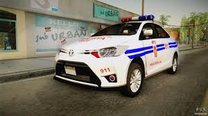 toyota national toyota vios 2014 philippine national police for gta san andreas