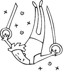 gymnastics coloring page olympics coloring pages gymnast on rings gymnastics coloring