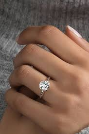circle engagement ring 33 engagement rings timeless classic and not only oh so