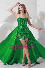 high school graduation dress green mini length graduation dresses for high school with shining
