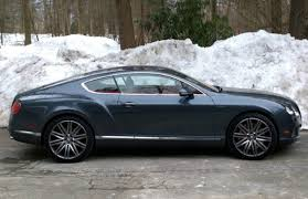 bentley snow the bentley continental gt speed is a freakishly fast luxury
