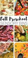 thanksgiving sensory bin preschool fall sensory bins for fall sensory play activities