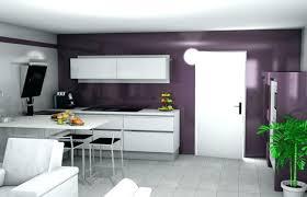 cuisine blanche mur photo cuisine blanche mur aubergine idée de modèle de cuisine