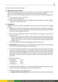 artikel format paper ilmiah kb 1 format penulisan karya tulis ilmiah
