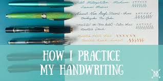 penmanship practice for adults how i practice my handwriting boho berry