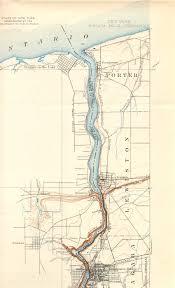 Niagra Falls Map Niagara Falls Ny Ot Quadrangle