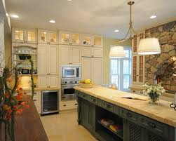 Kitchen Cabinets With Lights by Lighted Upper Cabinets Houzz