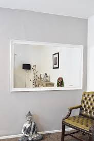 Antique Bathroom Mirrors Sale by Extra Large White Full Length Antique Bevelled Wall Mirror