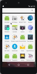 tutorial android menu bar android actionbar exle tutorial journaldev