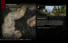 Stone Age World Map by Dragon Age Iinquisition Side Quest Playing With Fire Youtube