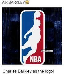 Nba Logo Meme - air barkley onbamemes nba charles barkley as the logo nba meme on