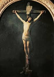 Image Of Christ by Rembrandt Christ On The Cross