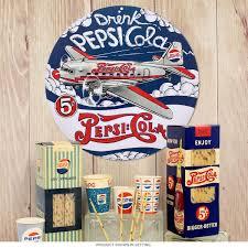 pepsi cola dc 3 airplane embossed tin sign game room decor