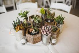 succulent centerpieces diy succulent centerpieces in recycled planters