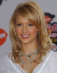 jessica alba hairstyles long hair with side bangs popular haircuts