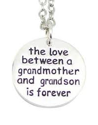 grandmother s necklace the between a grandmother and grandson is forever necklace