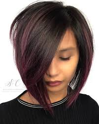 a line feathered bob hairstyles a line textured bob matrixhair avesalon short hair