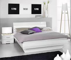 chambre a coucher 2 personnes brillant coucher place glosse decoration tiroir pin moderne pour
