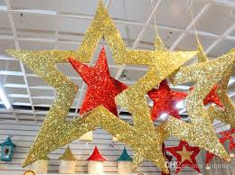 christmas stars christmas decorations hanging ornament selling