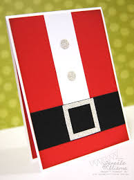 day five card ideas santa suits and cards