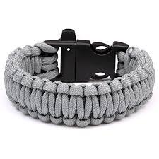 paracord survival whistle bracelet images 550 parachute cord emergency military survival bracelet whistle jpg