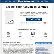 Create Job Resume Online Free by Create Job Resume Online Free Free Resume Example And Writing
