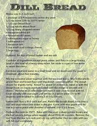 Cottage Dill Bread by Ipernity Dill Bread By Laurie Lane
