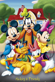 disney mickey mouse donald duck pluto poster 24x36 products