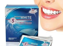 crest 3d white whitestrips with light teeth whitening kit teeth bleaching strips crest 3d white whitestrips with light teeth