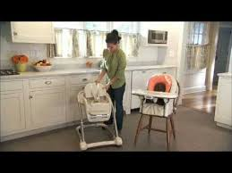 How To Fold A Graco High Chair Graco Blossom 4 In 1 Seating System Highchair Youtube