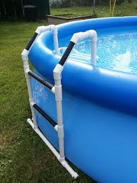 Inflatable Backyard Pools by Pvc Pool Ladder Diy Projects Pinterest Pvc Pool Pool Ladder