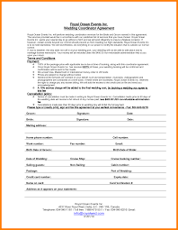 wedding day planner 11 wedding planner contract personel profile