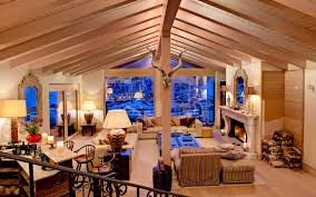 Ski Chalet Interior Luxury Ski Chalet With Stupendous View Of The Matterhorn
