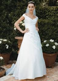 get the trend at any budget off the shoulder wedding gowns