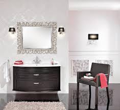 silver bathroom mirror home design styles