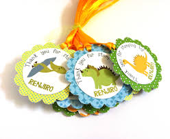 dinosaur party favors dinosaur party favor tags for birthday and baby shower adore by nat