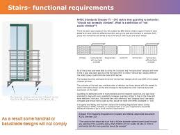 Handrail Design Standards Internal Stairs And Handrails Construction Systems Ppt Download