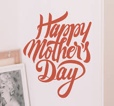 mothers day stickers happy mothers day wall sticker tenstickers