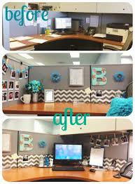 Decor Office by Diy Desk Glam Give Your Cubicle Office Or Work Space A Makeover