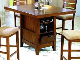 kitchen island table with storage counter height kitchen island table madebyni co