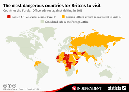 the most dangerous popular destinations for britons the