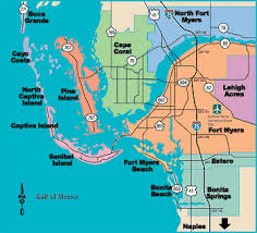 Map Of North Florida Counties Florida Lee County Every County