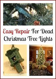 restring christmas tree lights how to restring a pre lit christmas tree lights