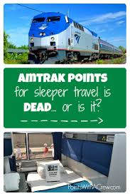 amtrak points for sleeper travel is dead or is it points is using amtrak points for sleeper car travel completely dead or are there still actually