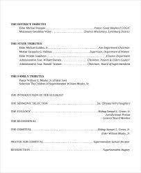 Samples Of Funeral Programs Sample Funeral Obituary Template 11 Documents In Pdf Psd Word