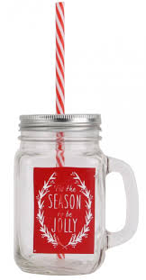 quotes about christmas drinking mason style tennessee glass handled christmas drinking jar with