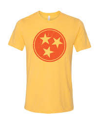 Tennesse Flag Tri Star Tennessee Flag Tn T Shirt Variety Of Colors In Men U0027s