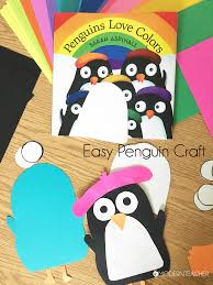 blog easy penguin winter craft neenah products