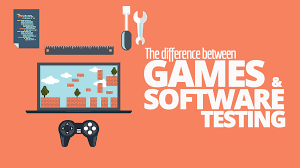 the difference between games and software testing simple programmer