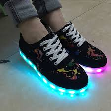 ladies light up shoes new 8 color led light up shoes men women fashion casual led shoes